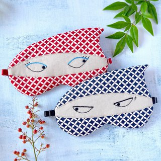 NINJA Couple sleep mask/Shippo pattern