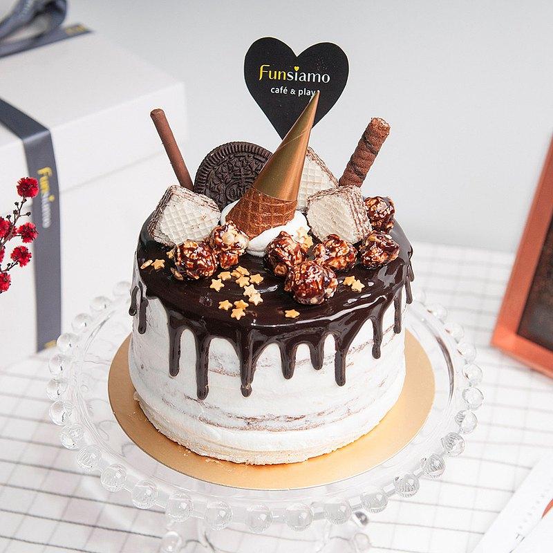 【台北時代店】法芙娜巧克力香蕉蛋糕・蛋糕烘焙DIY・平板教學