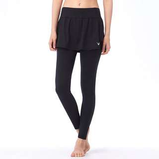 [MACACA] cool breathable thin skirt pants - ASG7791 black