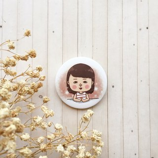 Mary tender tenderness | badge
