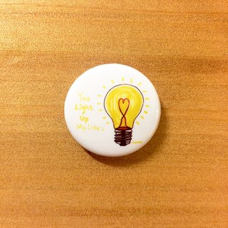 Darwa--you are my light bulb - graphic badge