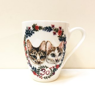 Big mug - custom exclusive pattern - customized