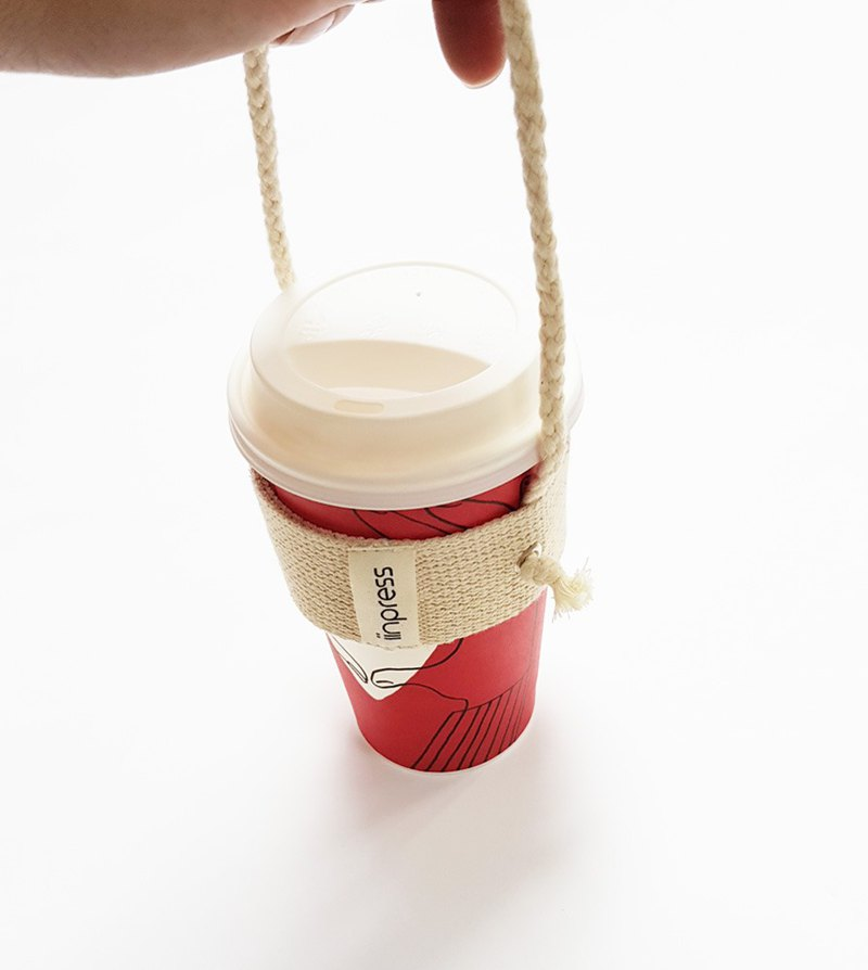 iinpress 環保杯套