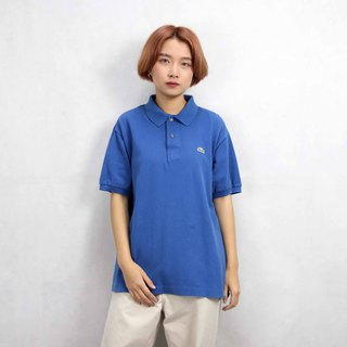 Tsubasa.Y Ancient House 007 Blue Lacoste POLO Shirt, Vintage Vintage