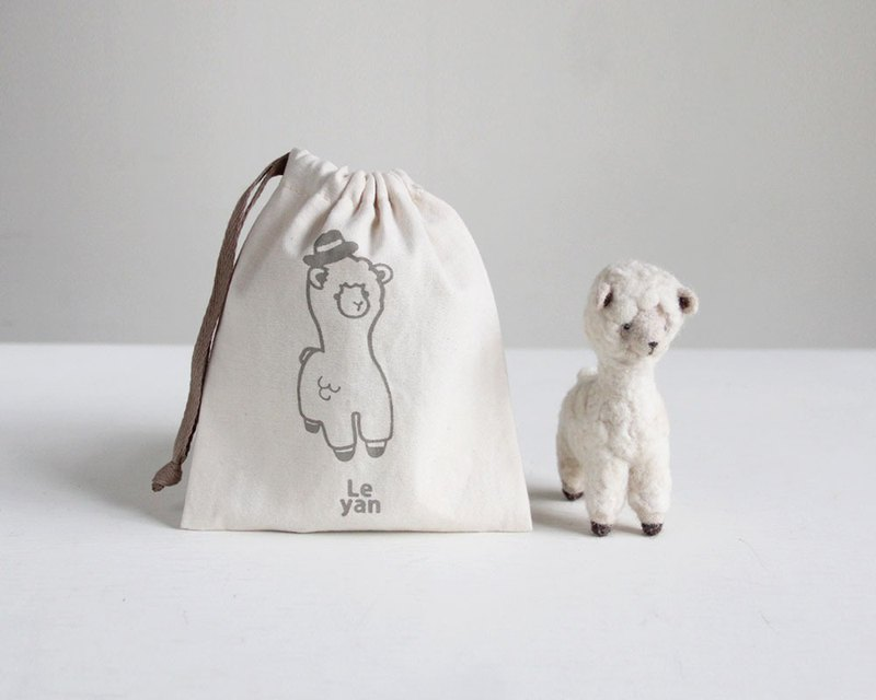 Le Yang, good fun wool felt material bag - Alpaca Rama, GO