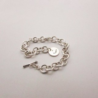 Mittag BL815 character bracelet_ personality bracelet 925 sterling silver limited edition designer