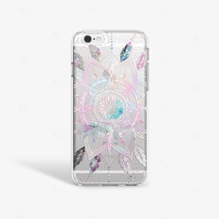 Feather iPhone Case, Bohemian iPhone Case, Mandala iPhone Case, iPhone 6 Case, iPhone 6S Case