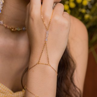 Sunshower Gold-plated Hand Chain