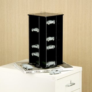 Rotatable Acrylic Model Display Case - S