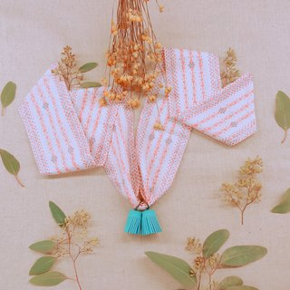 Tassel necklace / hundred percent girl