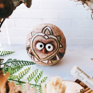 C-41 Owl Decoration │ 吉野鹰x Office Small Things Pottery Design Bell Cute Gift