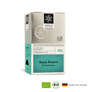 Organic Herbal Tea Saint Petersburg Fusion Herbal Tea with Apple Aroma Refreshing Tea Bag 20 In