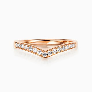 Frankness | 18K White Gold Elegant Simple Diamond Ring BL058 | Rose Gold / Diamond Ring / Couple / Custom / Customized