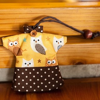 Le Sew than the rabbit LoveRabbit- little owl Wallets - can house keys, clothes modeling, owl