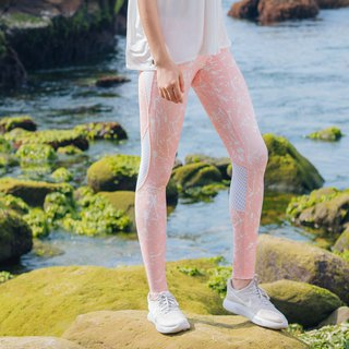 [MACACA] Starry Night Hip Bone Strict Cropped Pants - AQE7133 Pink