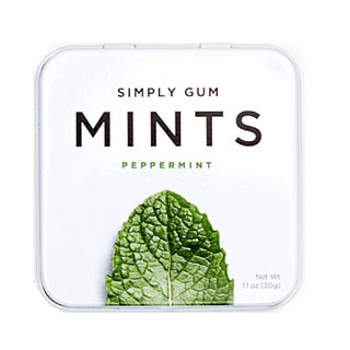 Simply Gum Simple Mint Light Candy