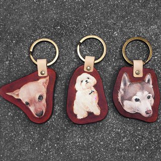 To map the brake head key ring ornaments pet hair kids