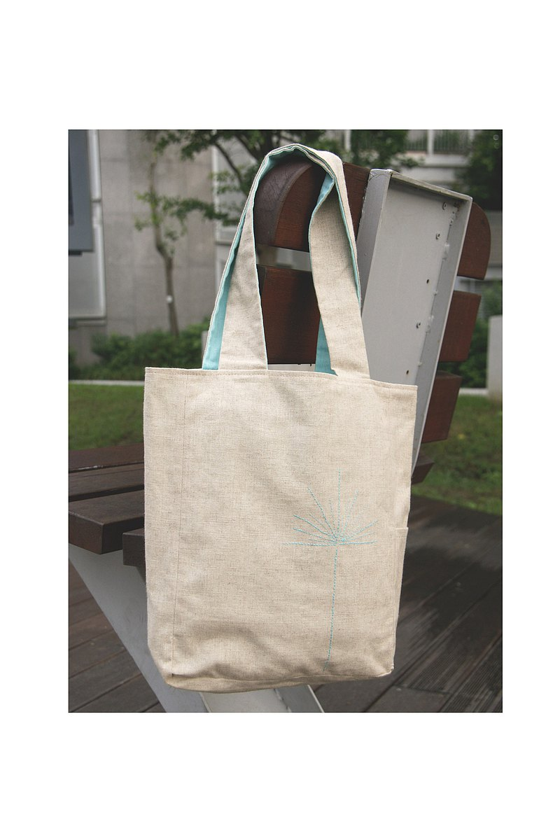 Hand made double-sided cloth bag
