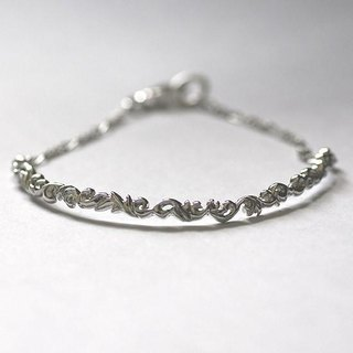 Entangled arabesque bracelet