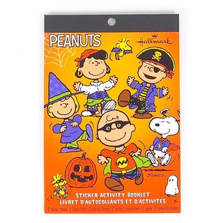 Snoopy Family Halloween Sticker Book [Hallmark-Halloween Series]