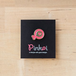 Pinkoi Little Fish Shiny Badge