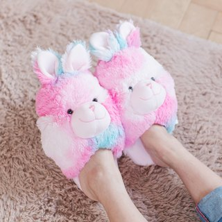 CANDY BEAR bubble gum rabbit slippers