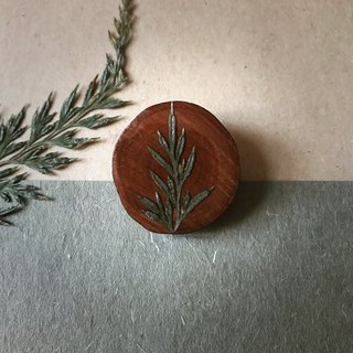 Dried Flowers Epoxy Pin / Brooch