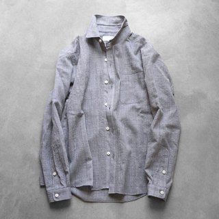 Washable wool shirt GRY · Unisex