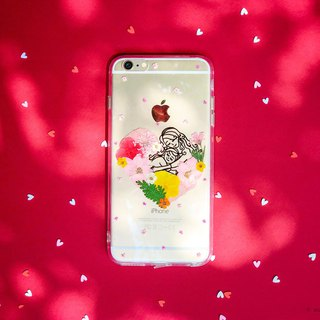 母親節 乾花手機殼 Mother's Day Pressedflower Phone Cases Gift