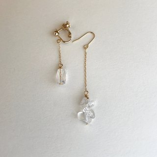 difference innocence  clip-on or pierced earrings