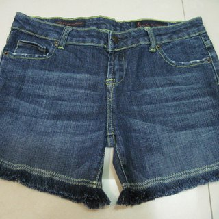 Second-hand modified denim series manual wire drawing size28