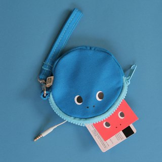 Glutton Monster Circle Zip Purse (3 colors)