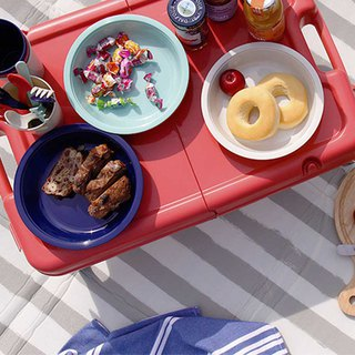 ZELT Picnic Folding Table Cutlery Set