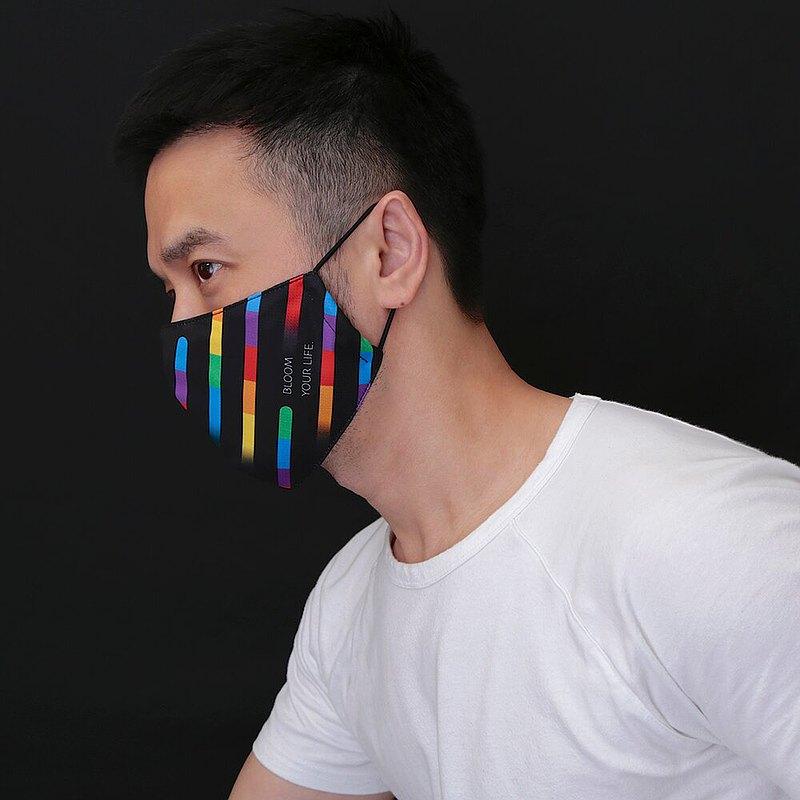 綻放 ! 兩用型立體口罩套 / 可置濾材