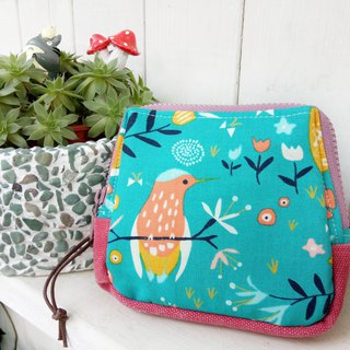 [Good day hand made] Handmade. Forest garden storage bag. packet. gift