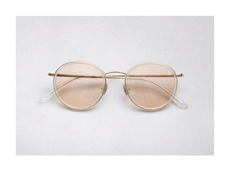 Japanese retro transparent frame - can be customized with degree sunglasses