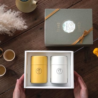 【Lang tea】 window flower tea gift box / full (two cans)