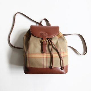 A ROOM MODEL - VINTAGE, after Burberry Plaid Backpack / BB-0787