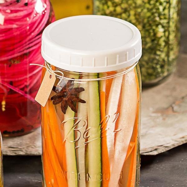 Ball Mason Jar Mason jar _ wide mouth special plastic cover 2 into