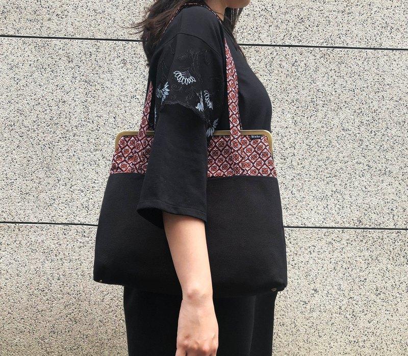 紅塵俗事 巨型口金包 手拿包 側背包 肩背包 媽咪包