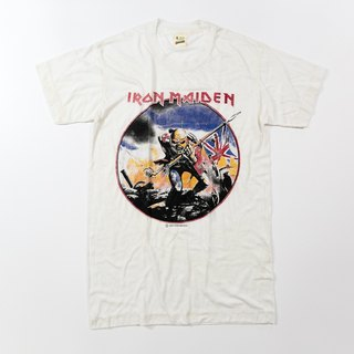 [3thclub Ming Ren Tang] Classic Iron Maiden Mission Tee Iron Lady vintage BTE-003