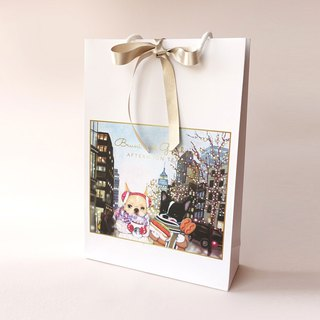 French Bulldog Paper Gift Bag A4 Size ( x1 Piece )