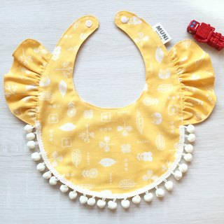 Lotus Leaf Bib (Yellow Forest)