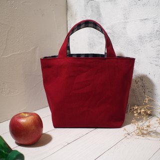 House wine series lunch bag / handbag / limited manual bag / small apple / stock