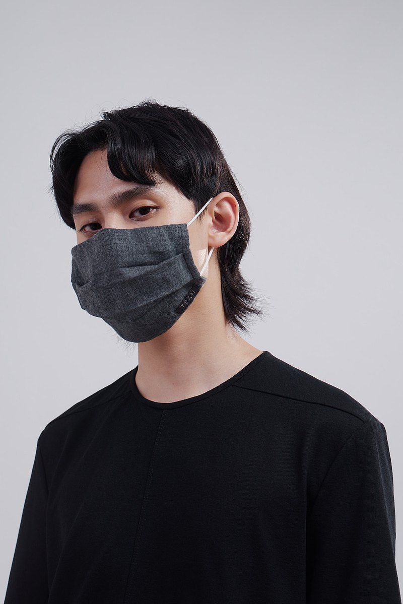 二重紗織棉質口罩套 台灣製 保暖 純棉雙面用 海外可寄 成人
