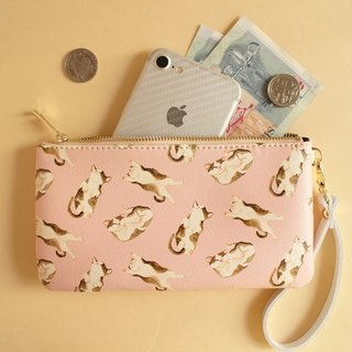 Cat Kitty Purse Clutch Storage Bag Purse Passport Package Mobile Phone Bag