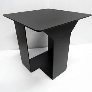 * Black design * desk stool mix concept, both the table, but also the stool, special design side table, shelves, designer chairs, bench