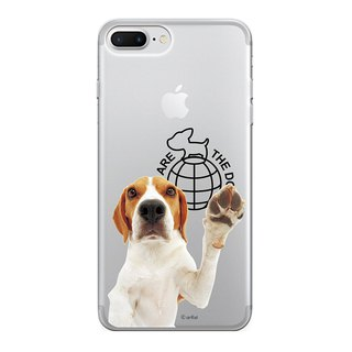 The Dog big dog license - TPU phone shell, AJ13