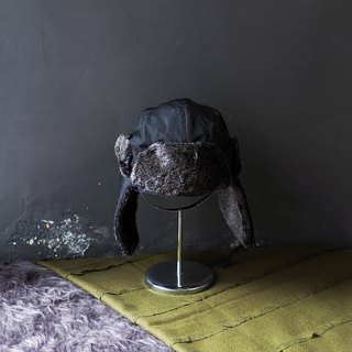 Tottori dark slipper soft velvet 涩 涩 有 有 古董 古董 antique flat top ski cap peaked cap