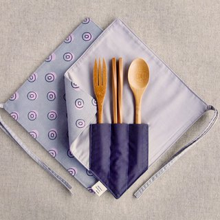 【Chopsticks Set】 - Grape Purple